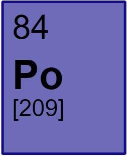 Polonium element